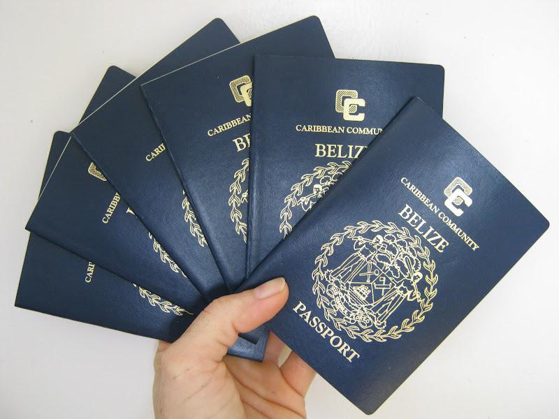 get belize passport